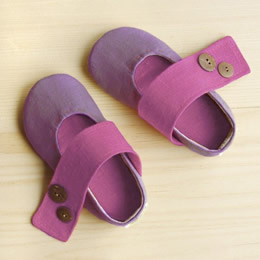 Zen mini lavendar ballet flats by LaLa shoes