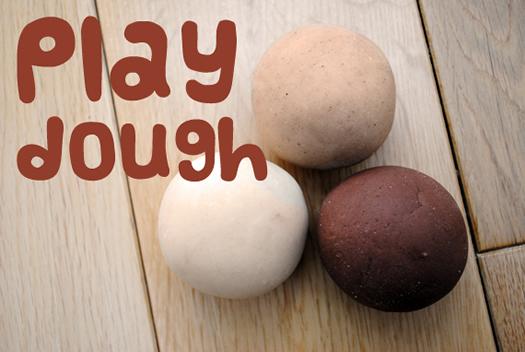 Festive Play dough balls by mini eco
