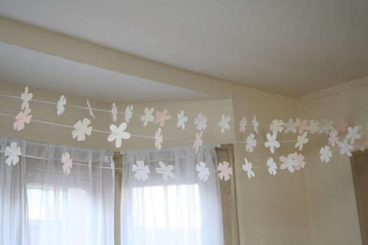 Floral garland kit by Paper Source