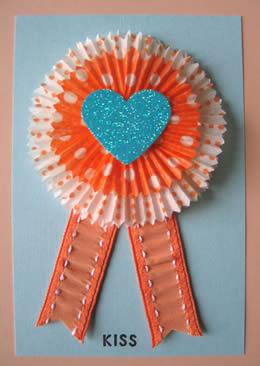 Cupcake Liner Card by Urban Comfort