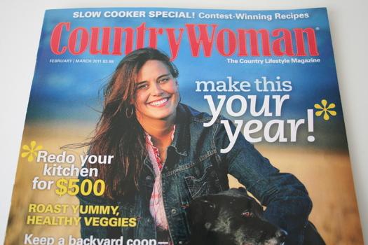 Country Woman Magazine Jan/Feb 2011