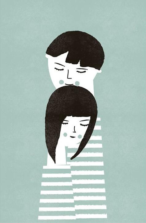 The Couple print by Blanca Gomez