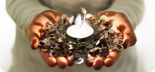 Bilberry candle holder by Bility 2