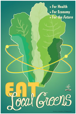 Eat Local Greens by Victory Gardens of Tomorrow