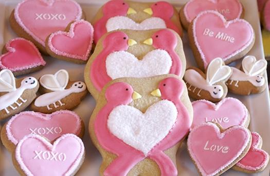 Love Bird cookies by Eleni's