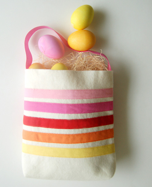Easter totes by Purl SoHo
