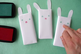 Chocolate bunnies craft 2 by the Crafts Dept