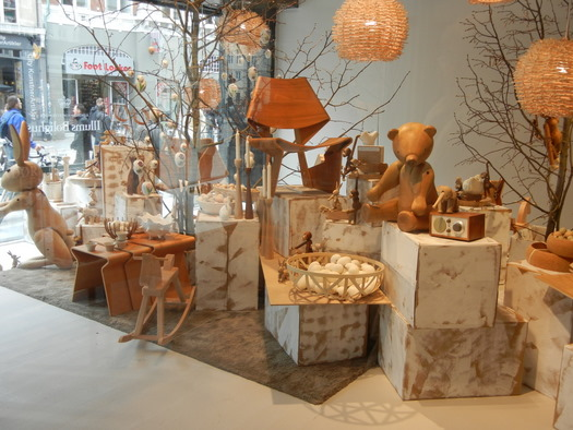 Window display at Illums Bolighus
