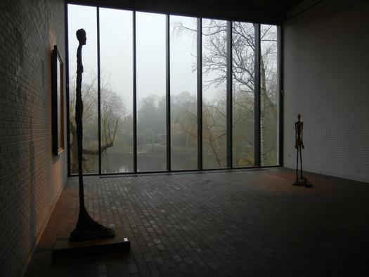 Giacometti sculpture at Louisiana Art Museum