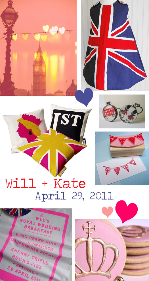 Royal Wedding Handmade Etsy Picks
