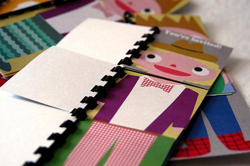 Flipbook invitation 1 by My Paper Crane
