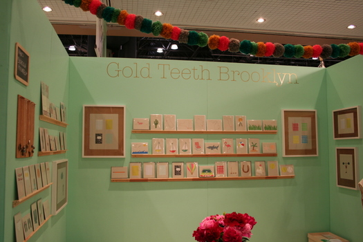 Gold Teeth booth at NSS