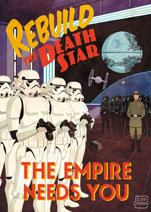 Rebuild the Death Star