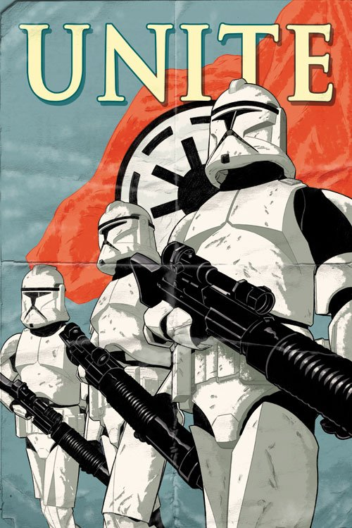 Unite Stormtroopers poster