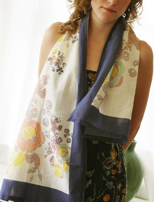 Elle Summer Scarf by Leah Duncan