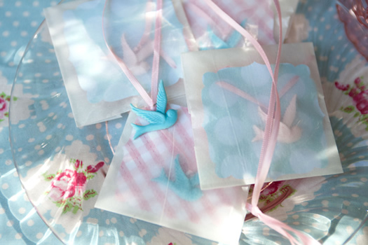 High tea birthday party favors by Birthday Girl and Cakewalk Baking