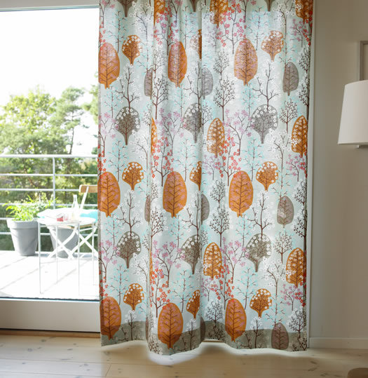 Spira Haga turkos curtains
