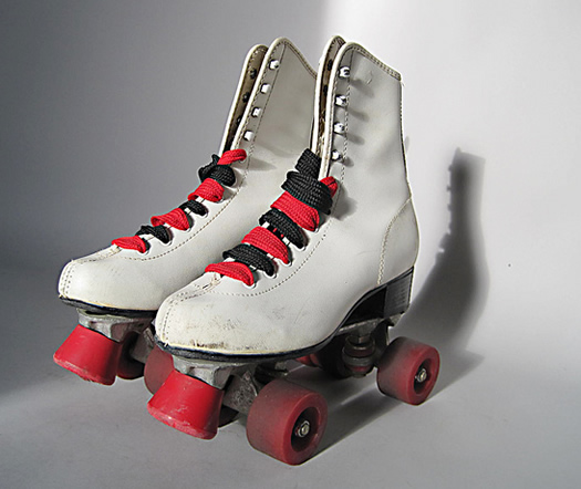 Vintage rollerskates by A Touch of Vintage