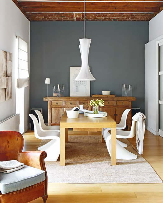 Dining room via Delikatissen