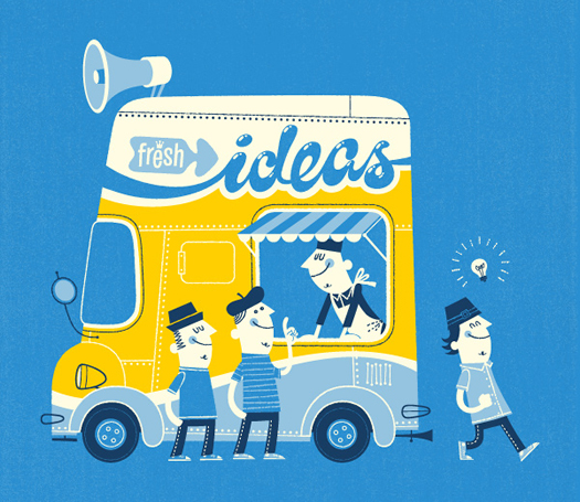 Fresh Ideas illo by Esther Aarts