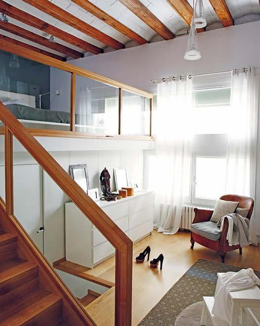 Loft Bedroom via Delikatissen