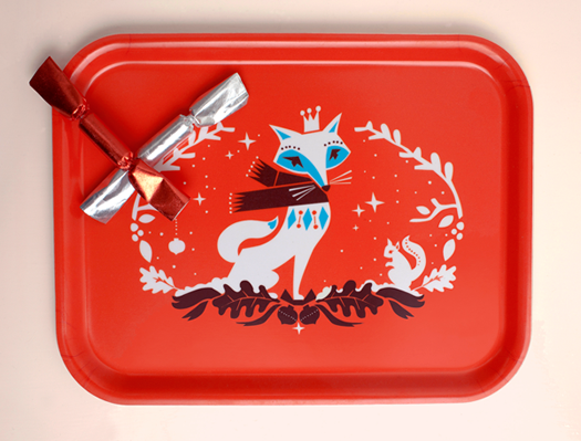 Winter Wonders tray by Darling Clementine