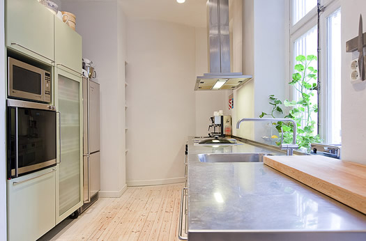 Swedish Kitchen via Skeppsholmen