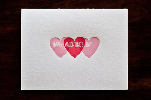 Happy Valentine's Day by Ink Meets Paper