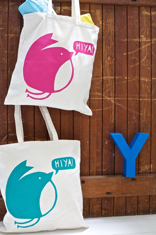Hiya Tote Bags by YOKE