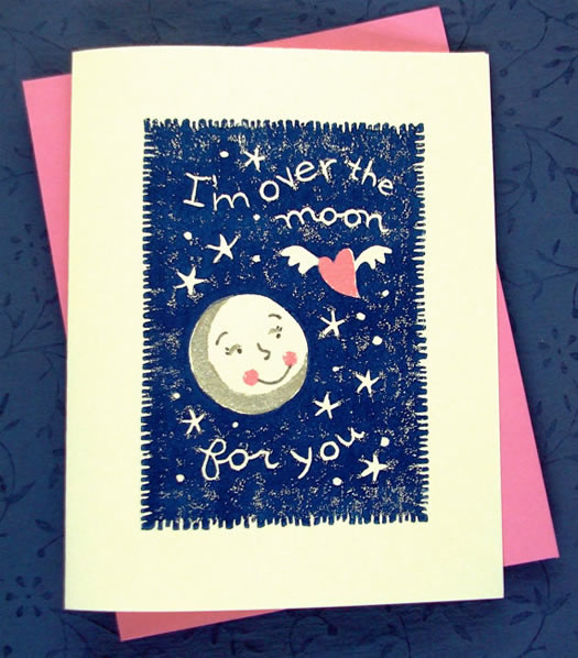 I'm over the moon for you by Nora Alice