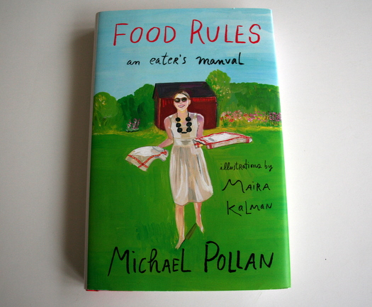 Food Rules illustrated by Maira Kalman