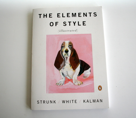 Elements of Style illustrated by Maira Kalman