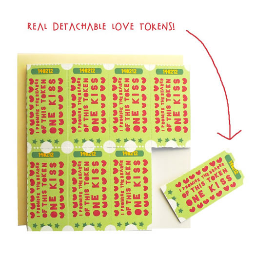 Love Tokens Card by Tea & Ceremony