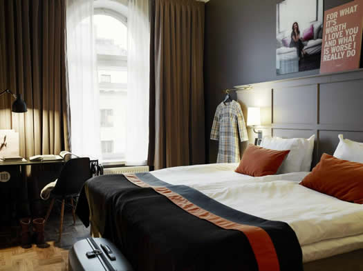 Scandic Grand Central hotel room