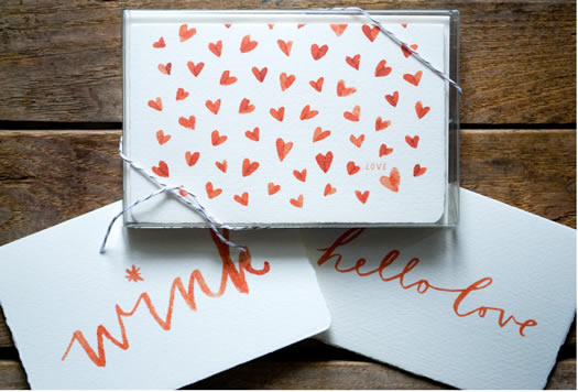Valentine collection by Kathryn Whyte