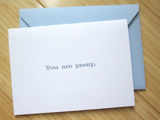 You are pretty by Studio Slomo