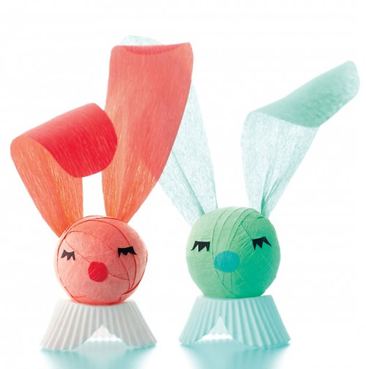 Crepe Paper Suprise Bunny by Martha Stewart