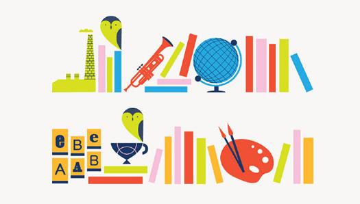 National Library of Scotland illo by Edward McGowan