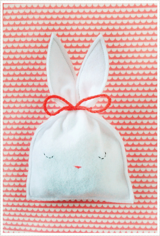 Easter Bunny Candy Pouch by MerMag