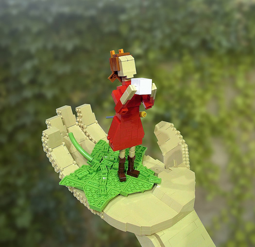 Arietty in legos by Ochre Jelly