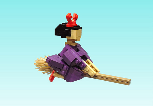 Kiki's Delivery Service in legos by Ochre Jelly