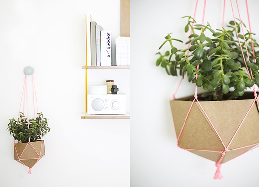 DIY Plant holder by Weekday Carnival