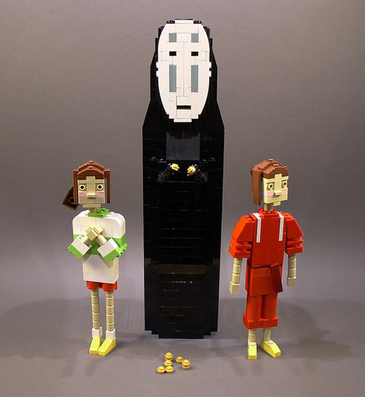 Spirited Away in legos by Ochre Jelly