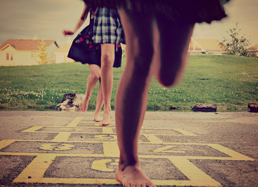 Hopscotch by Outside Alice