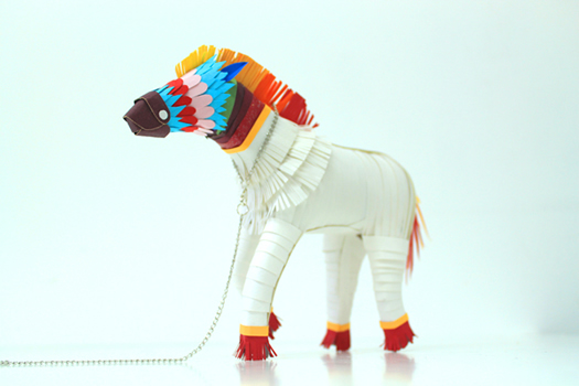 Rainbow horse by Diana Beltran Herrera
