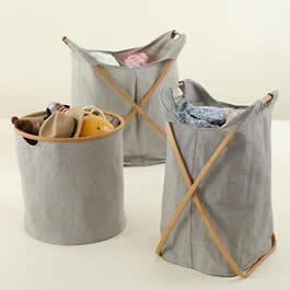 Storage bins via Land of Nod