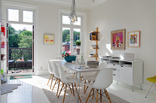 Swedish dining room via Alvhem