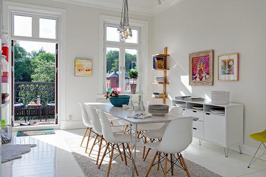 Swedish dining room via Alvhem