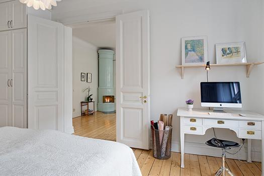 Swedish fireplace via Alvhem