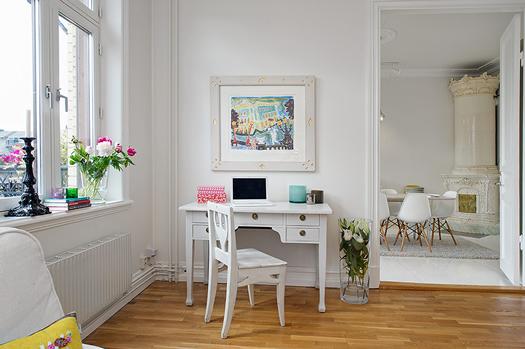 Swedish living room via Alvhem
